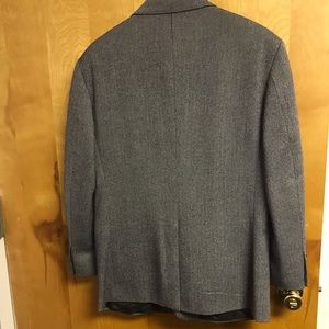 Brooks Brothers Suits & Blazers - Brooks Brothers Wool blk/wht herringbone blazer